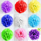 10'' Tissue Paper Pom Poms Flower Balls Wedding Shower Party Birthday Decoration