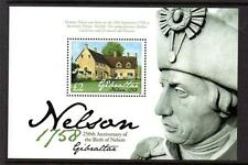 GIBRALTAR MNH 2008 250TH ANV OF THE BIRTH OF LORD HORATIO NELSON MINISHEET