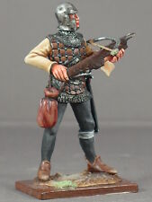 Medieval crossbow ballista armored Genoese crossbowman  54mm model medal figure