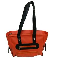 NEW ORANGE HANDBAG FOR WOMEN LADIES GIRLS / LOWEST PRICE HAND BAGS / PURSE