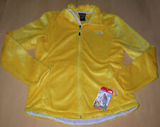 NWT The North Face Osito 2 Fleece Jacket Dandelion Yellow Womens Sz L