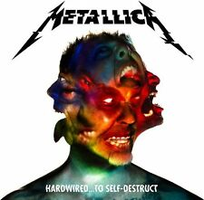 METALLICA CD - HARDWIRED...TO SELF-DESTRUCT [2 DISCS](2016) - NEW UNOPENED