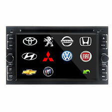 "Double 2Din 6.2"" Stereo Car DVD Player Bluetooth Radio iPod SD/USB TV w/o Gps"