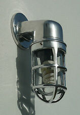 INDUSTRIAL STYLE BULKHEAD OUTDOOR ALUMINIUM WELL WALL LIGHT LAMP