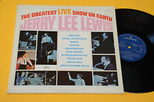 JERRY LEE LEWIS 2LP LIVE SHOW ON EARTH ORIG UK NM ! AUDIOFILI UNPLAYED