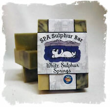 Bay Rum _ White Sulphur Springs SPA Sulphur Mineral  Soaps Made in Montana