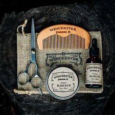 Beard Grooming Travel Kit  'Clean Slate' -By Winchester Grooming Co. Great gift