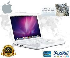 "Apple Macbook White A1181 13.3"" 160 GB HDD OS 10.6.3 Mac OS X 10.5, Leopard"