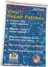 NEW JED 35-240 VINYL SWIMMING POOL ASSORTMENT PACK REPAIR PATCHES 8427148