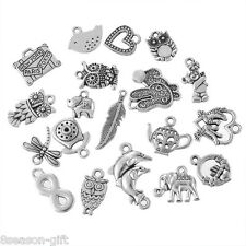 1Set Tibetan Silver Tone Antique Pendants Kits Metal Jewelry Making Finding DIY