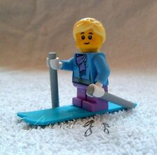 *! Genuine New Lego Minifig Female Skier Split From Set 10249 !!