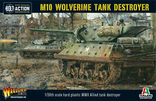 M10 WOLVERINE TANK DESTROYER - WARLORD - 28mm WW2 BOLT ACTION - SENT FIRST CLASS