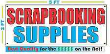 SCRAPBOOKING SUPPLIES Banner Sign NEW Larger Size Best Quality for the $$$