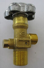 NEW CGA 350 Carbon Monoxide and Hydrogen Cylinder Valve MADE IN ITALY