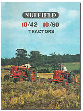 Nuffield 10/42 10/60 Tractor Brochure 1960s