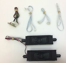 """Insignia NS-32D201NA14 32"""" TV Repair Parts: Speakers, Wires/Cables"""