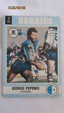 1977 Canterbury Bulldogs Scanlens NRL Cards x 8
