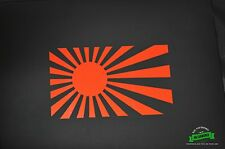 Japanese Rising Sun Flag Sticker JDM Drift Vtec Turbo Decal Ships Today!