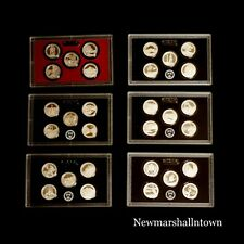 2010 2011 2012 2013 2014 2015 S ATB National Park Silver Proof Set in Lens Case