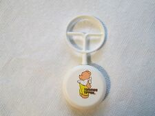 Vintage Plastic Tommee Tippee Baby Rattle Teddy Bear Toy RARE+GORGEOUS