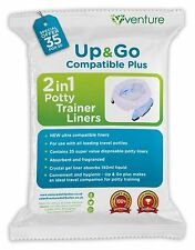 Potette Plus & OXO Tot Travel Potty 100% Compatible Liners -  NEW 35 Pack