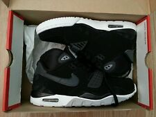 NEW GENUINE NIKE AIR SC II TRAINERS MENS BLACK WHITE UK 7 EU 41 US 8 MAX 2
