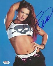 Lita Signed WWE 8x10 Photo PSA/DNA COA Pro Wrestling Diva Picture Autograph Punk