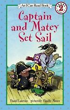 Captain and Matey Set Sail (I Can Read Book 2)-ExLibrary