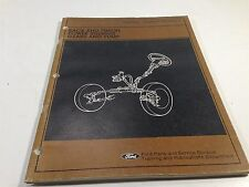 1981 Ford Rack And Pinion Power Steering Gears And Pump Service Manual