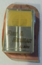 Vintage Fire & Burglar Alarm System Home Security Protection Collectible