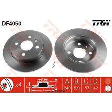 Disque de frein, 1 unités trw df4050