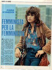 Q45 Clipping-Ritaglio 1974 Maria Schneider