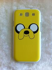 ADVENTURE TIME JAKE THE DOG Printed Samsung Galaxy S3 i9300 Case White Edges L2