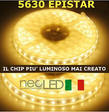 Striscia LED Strip 5630 luce calda 3000k 5m 300 LED Chip EPISTAR LUMINOSISSIMA