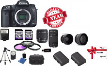 Canon EOS 7D II Digital SLR Camera with lens (MK 2 Mark II DSLR) MEGA BUNDLE