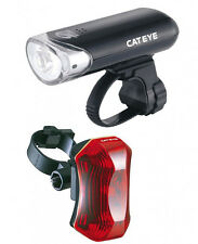 CatEye Bicycle Safety LED Light Combo Set HL-EL130 TL-LD170 Front / Rear Bike