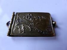 Paris ART NOUVEAU Carnet de Bal Silver Gold  Pendant Album Souvenir Photo 1900s