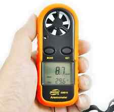 New!Digital LCD Anemometer Wind Speed Meter Tester Temperature Gauge Thermometer