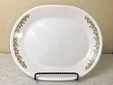 """Vintage Corelle Spring Blossom / Crazy Daisy Oval Platter - approx. 10"""" x 12"""""""