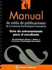 Manual de Estilo de Publicaciones de la American Psychological Association :...