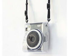 Crystal Transparent Camera PC Hard Case Cover Bags For Fujifilm Instax Mini 90