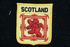 SCOTLAND SEAL HAT PATCH SCOTTISH EUROPE LION GRIFFIN PIN UP GIFT SOUVENIR