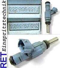 Einspritzdüse BOSCH 0280157012 Audi A 3 3,2 022906031J gereinigt & geprüft