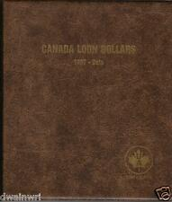 "Unimaster Coin Album #167 ""Canada Loon Dollars 1987-Date"" Money Storage Collect"