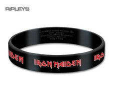 Official IRON MAIDEN Silicone Wristband Tails Logo Black Gift