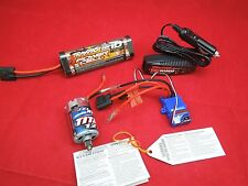 TRAXXAS iD WATERPROOF XL-5 ESC  + TITAN MOTOR LVD iD Hump Battery +4 amp charger