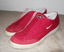 RARE vintage 1996 Olympics USA Team Nike Red Canvas GTS sz 9.5 flag