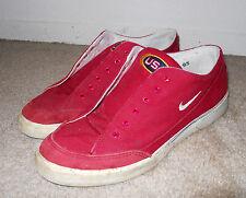 RARE vintage 1996 Olympics USA Team Nike Red Canvas GTS sz 9.5 flag