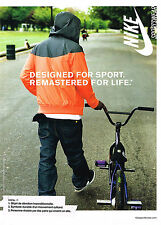 PUBLICITE ADVERTISING 094  2008  NIKE  Vetements de sport