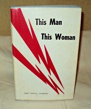This Man This Woman by Janet Standard hc 1968 Pioneer Carolina Georgia Romance
